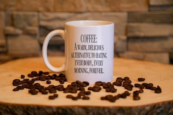Coffee FUNNY definition   Coffee Mug Gift   Message Mugs   11 oz.