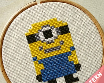 Minion - Cross Stitch Pattern