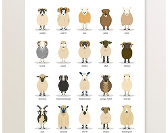 "Shop ""sheep"" in Art & Collectibles"