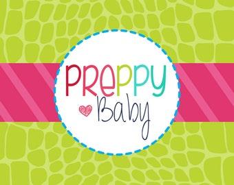Preppy Baby - Custom Etsy Shop Set