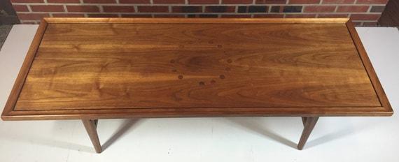 Danish Modern Drexel Declaration Coffee Table by Kipp Stewart for Drexel Circa 1960s