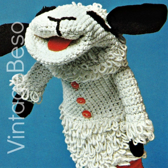 INSTANT DOWNlOAD PdF Pattern 1975 Lamb Chop by VintageBeso