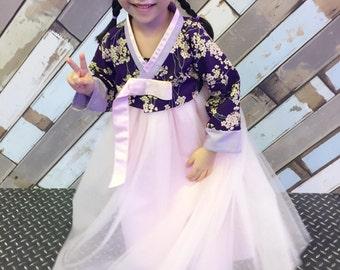 Hanbok for baby giri Korean Traditional Wedding Dress