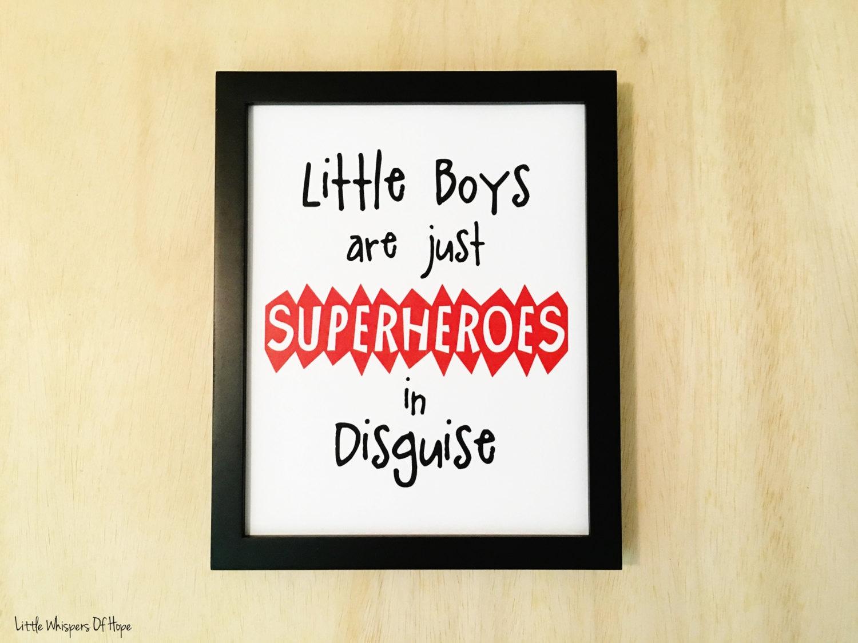 Little Boy Wall Art - Elitflat