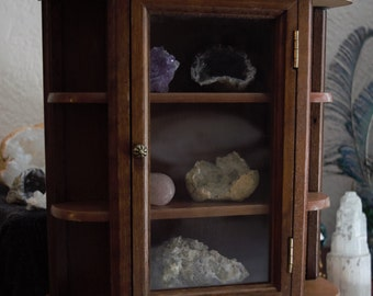 Antique Wooden Display Case