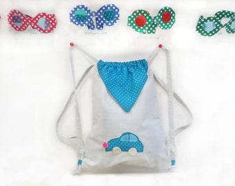 Petit sac à dos pour la Maternelle- Sac à Doudou.