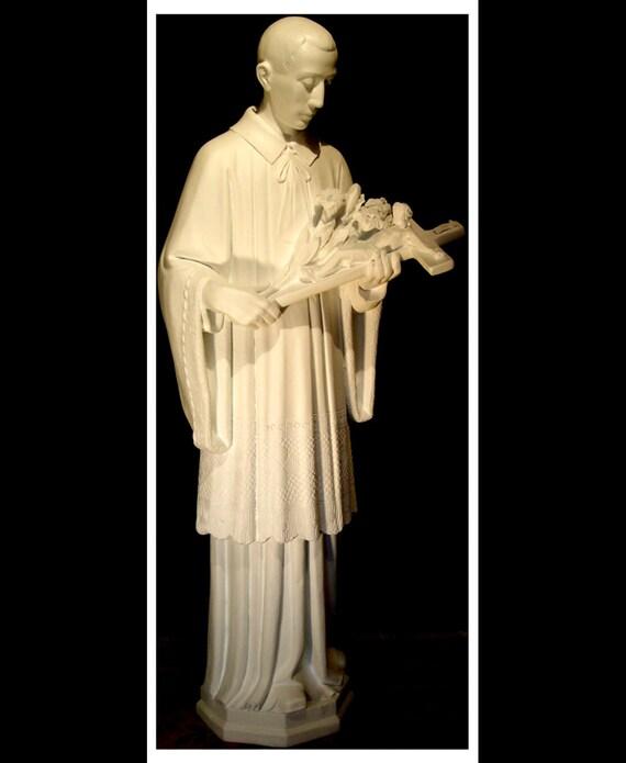 """St. Aloysius Gonzaga 60"""" Fiberglass Statue (SALE)"""