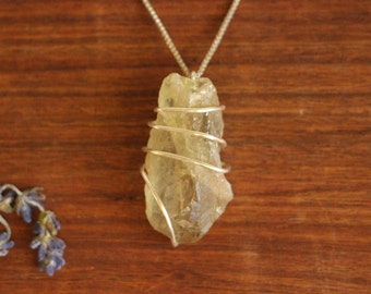 Prasiolite Crystal, Prasiolite Pendant, Prasiolite Necklace, Green Amethyst Necklace, Green Amethyst Pendant, Green Amethyst Crystal