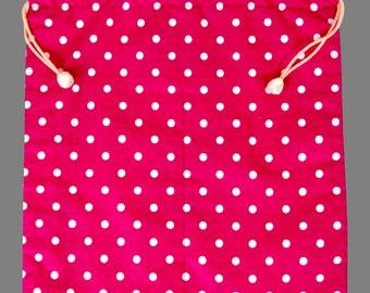 Flamenco Shoes Bag Multi Color Pink Polka Dots Gift Dance Shoes Bag Flamenco Skirts