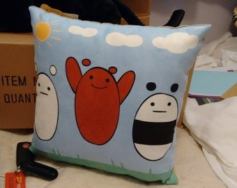 We Bare Bears Pillow