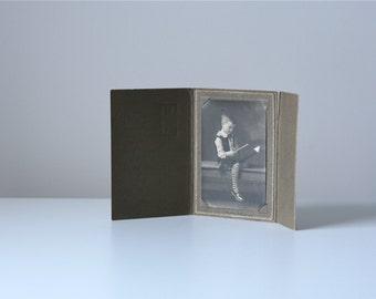 vintage photograph / child portrait photo