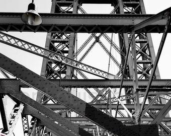 Williamsburg Bridge and Red