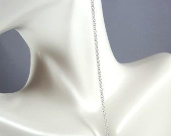 Very Long Swarovski Crystals earrings, sterling silver .925,