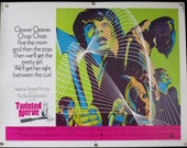 TWISTED NERVE ~ Movie Poster Rare 1969 Original Half Sheet ~ Psychedelic Horror Art ~ Hayley Mills, Billie Whitelaw and Barry Foster Star!
