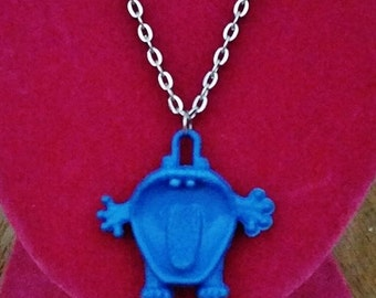 Aaargh Blue Monster Necklace