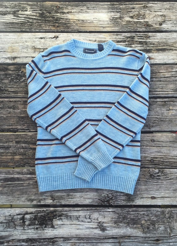 90s Vintage Crewneck Blue Kingsport Cosby Sweater