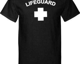 Lifeguard Mens Tall Tee T-Shirt LIFEGUARD-PC61T