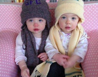 Hat and scarf set - 2pc