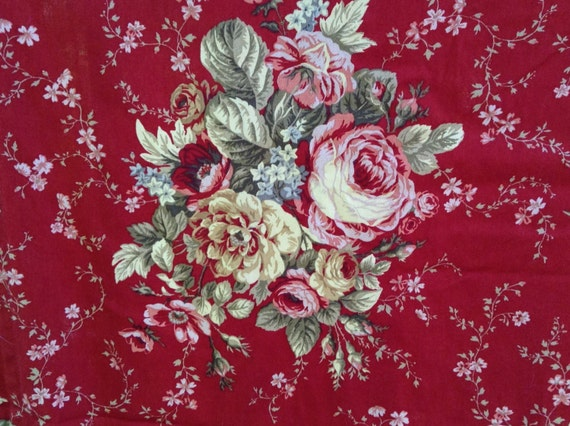 Waverly Vintage Rose Curtains 17