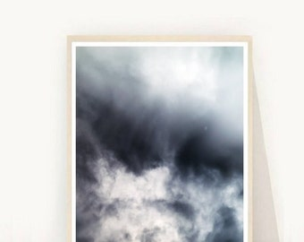 Abstract Photo,  Clouds Photo, Printable Art, Nature Print, Sky Photo,  Abstract Print,  Downloadable, Modern Wall Art, Wall Decor