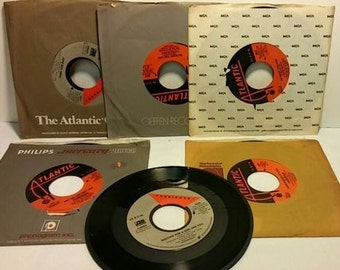 Foreigner 45 rpm Record Collection (6 records)