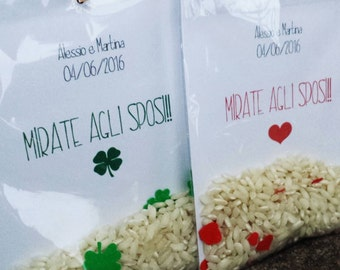 "10 rice bags ""Targeted to the Bridegrooms !!"""