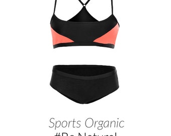 Lingerie Set - Organic Cotton with lycra