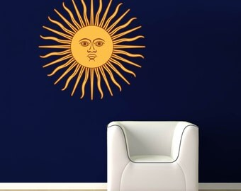 Argentina Sun Design - Full Color Wall Decal