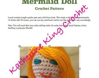 Mermaid Doll Pattern
