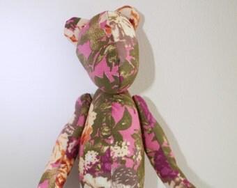 Handmade bear named Tubby