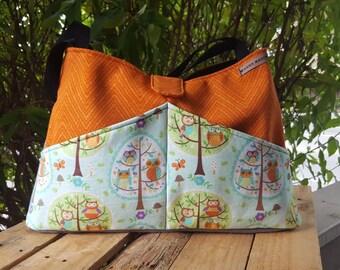 Owl Family Diaper Bag