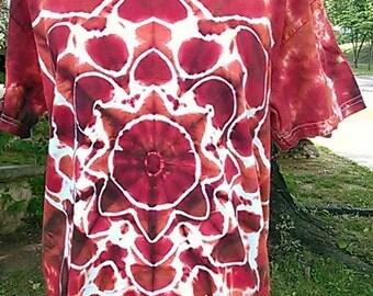 Tie dye star t-shirt size Medium