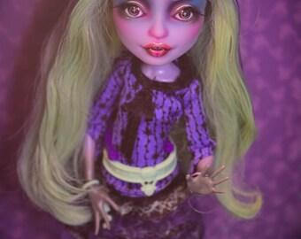 OOAK Monster Repaint Doll Custom Twyla