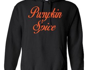 Pumpkin Spice. Women's Hooded Sweatshirt. Southern Element Apparel. Southern Sweatshirt/Hoodie