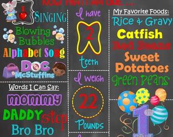 Birthday - Elephant Theme (Choose Variation- boy, girl, colorful)