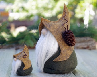 Nordic Gnome MINI and LARGE Nordic Gnome Set, Scandinavian Gifts, Gifts for Her, Christmas Gifts, Woodland Gifts, Gnome Lover Gifts
