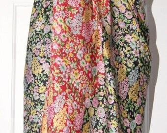 Extra Large Silk Scarf, Sarong, Wrap