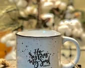 Restore 13 oz. Camperfire Stoneware Speckled Mug