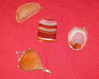Agates & Pendents