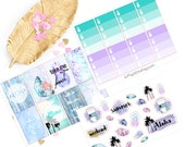 Weekly Kit sticker, life planner sticker for kikki k, filofax, erin condren or Happy planner, Erin Condren, Marmor Kit