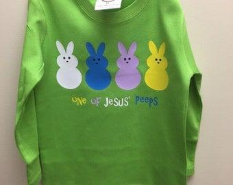 One of Jesus Peeps youth shirt