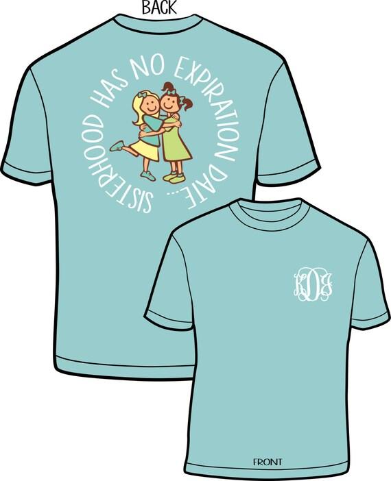 big  u0026 little sorority comfort color shirts this listing is