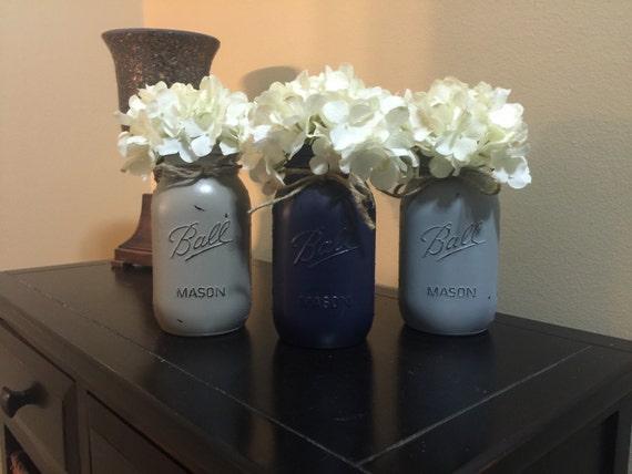 painted mason jars mason jar decor mason jar set painted mason jars