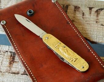 Vintage Farmer Pocket Knife