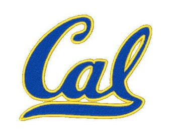 California Golden Bears football Embroidery Design,4x4-Instant Download