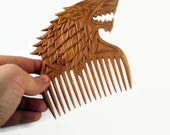Hair stick Wife gift Girlfriend gift wooden comb Game of Thrones  Womens gift Valentine gift for her pin wood  Wooden hair fork