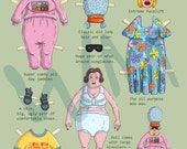 Old Lady Paper Doll