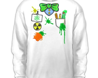 Mad Scientist Costume long sleeve kids t-shirt
