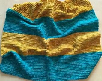 Emerald Sunset Baby Blanket
