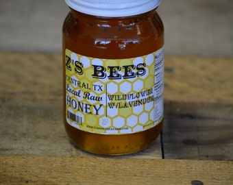 Z's Bees Wildflower Infused Honey